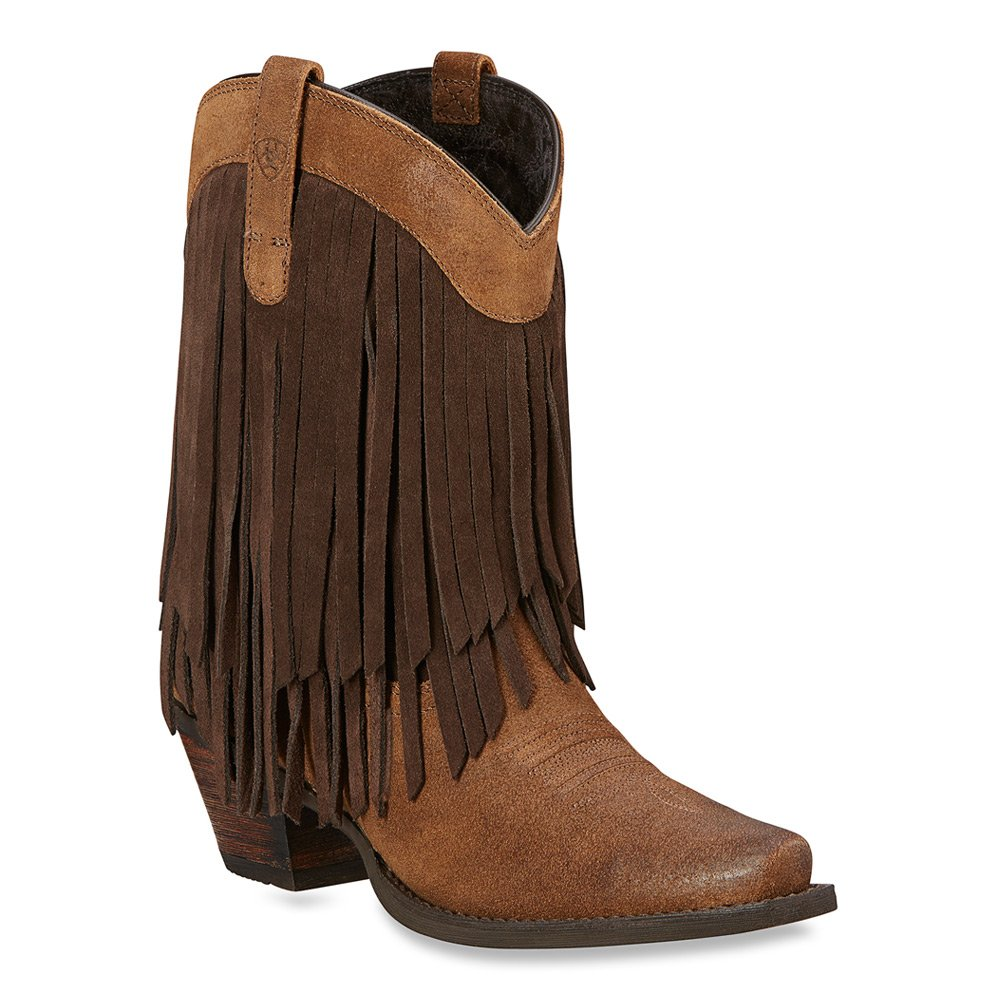 Ariat Women's Gold Rush Western Cowboy Boot B00U9Y4210 6.5 B(M) US|Antique Mocha