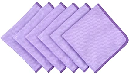 Gentil KinHwa Lint Free Rags Microfiber Kitchen Rags Ultra Absorbent Cleaning  Cloth Reusable Glss Polishing Cloths For