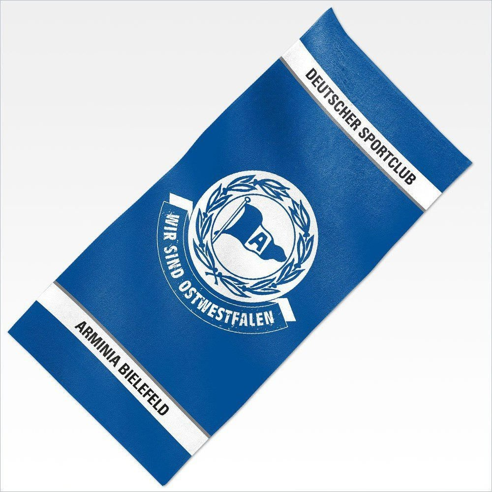 Badetuch DSC ARMINIA BIELEFELD Handtuch Duschtuch