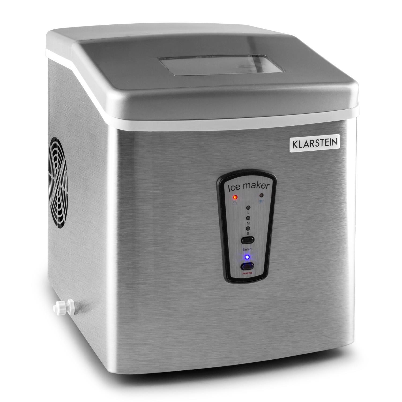 Klarstein Powericer máquina de Hielo (180 W, 15kg/día, depósito de 2