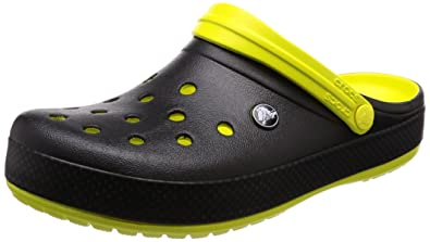14796b822cce1 ... Crocs Unisex Adult Crocband Carbon Graphic Clogss Yellow -M5W7 4 UK  clearance sale 80621 a2c70 ...