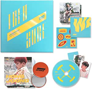 ATEEZ 3rd Mini Album - Treasure EP.3 : One To All [ WAVE Ver. ] CD + Photo Booklet + Sticker + Folding Poster + Postcards + Photocards + FREE GIFT / K-POP Sealed