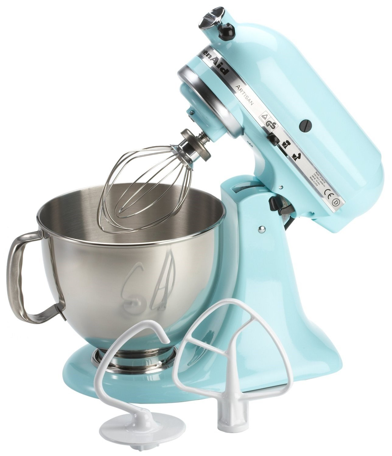 KitchenAid 175 Artisan 4.8L Stand Mixer, Pistachio: Amazon.co.uk ...