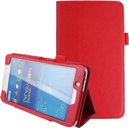 Nsstar Samsung Galaxy Tab 4 7 0 7 Pulgadas Funda Galaxy Tab 4 Case Ultra Slim Plegable Pu Funda De Piel Con Función De Atril Para Samsung Galaxy Tab 4 7 7 0