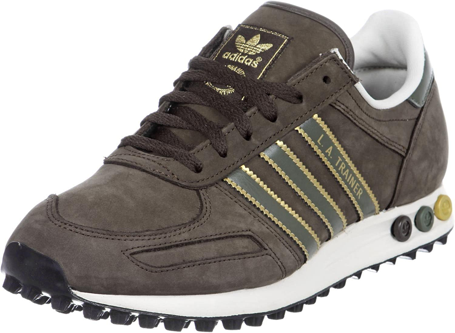 Email Más allá patio de recreo  Adidas Running Shoes La Trainer Musbro Brown Size: 7 UK: Amazon.co.uk:  Shoes & Bags