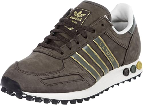 adidas trainer uomo marroni