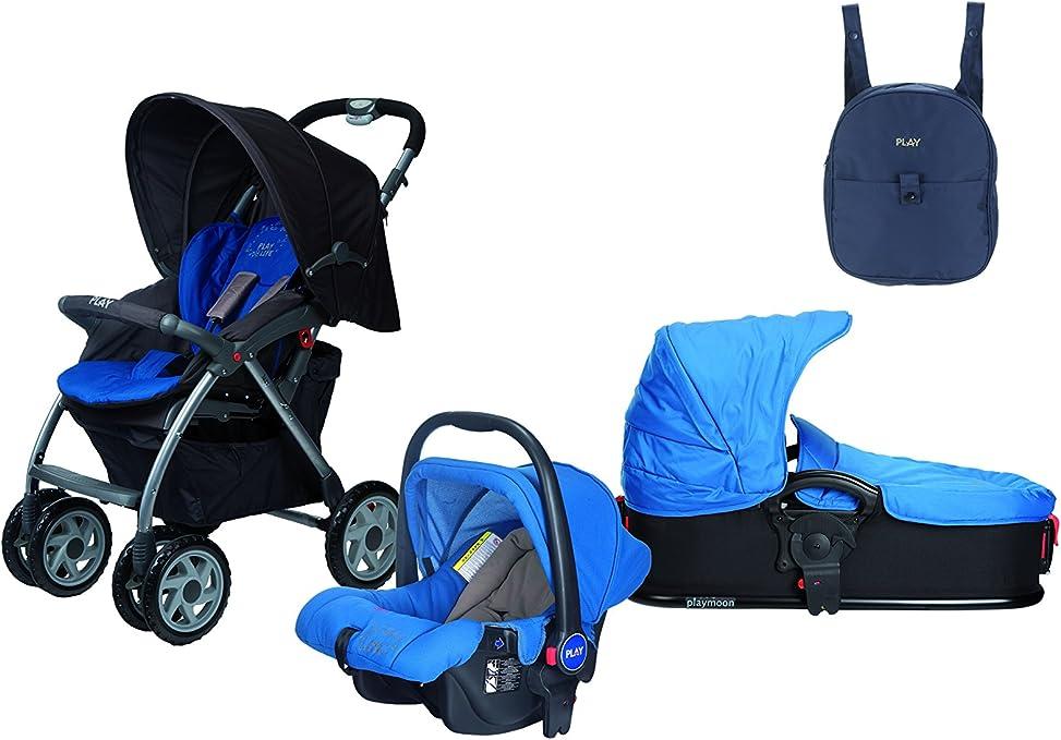 Casualplay 805106B Cochecito Avant + portabebés Sono + bolso Casual, color azul oscuro