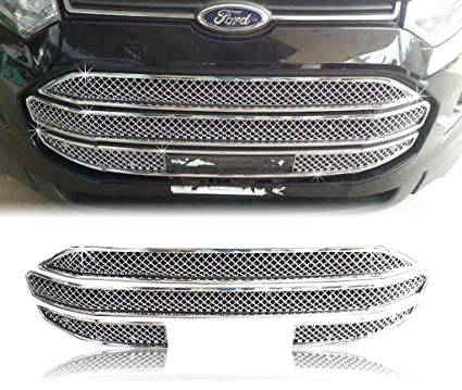 Auto Pearl Chrome Plated Front Grill For Ford Ecosport Amazon In