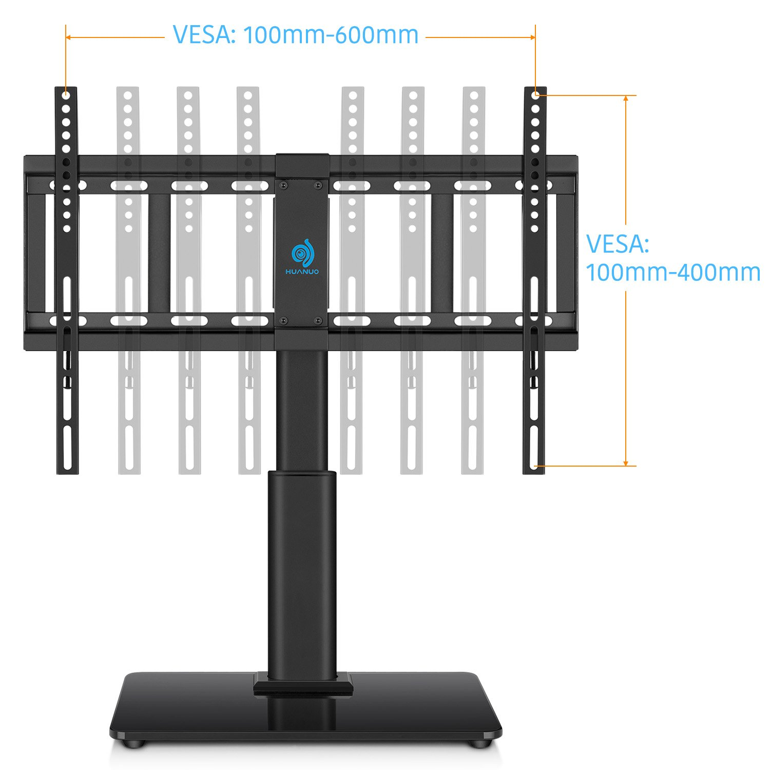Huanuo Hn Tvs02 Universal Table Top Tv Stand For 32 To 60 Inch Tvs