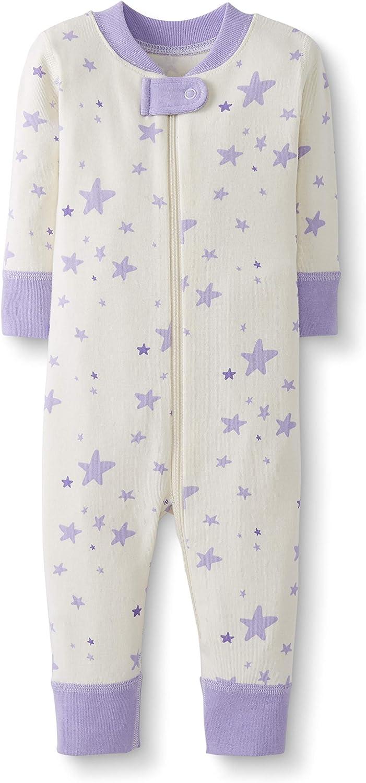 Pijama de una pieza sin pies hecho de algod/ón org/ánico para beb/é Moon and Back de Hanna Andersson