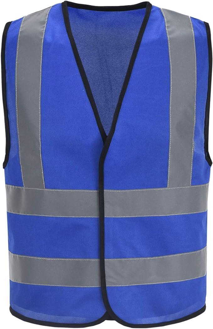 Auto Warnweste Sicherheitsweste Pannenweste Für Auto Fahrrad Waschbar Arbeschutzkleidung L Blau Baumarkt