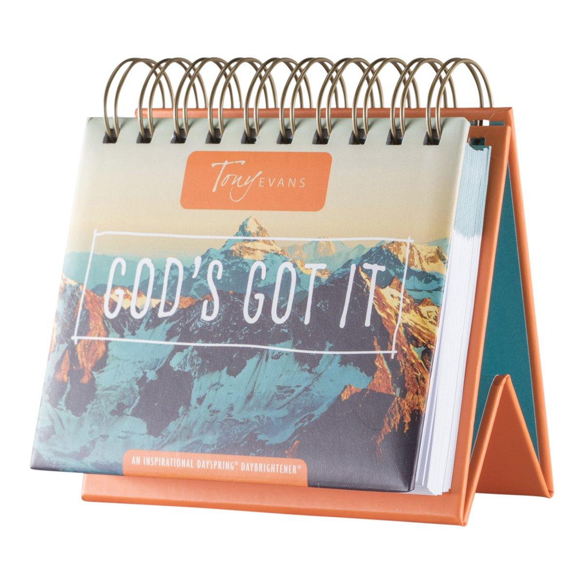 Tony Evans Gods Got It Flip Calendar