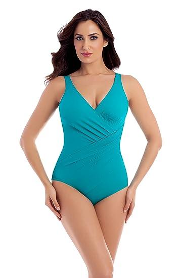 4243a7aa55 Miraclesuit Swimwear - Oceanus Swimsuit  Amazon.co.uk  Clothing