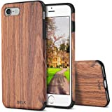 iPhone 8 Case,iPhone 7 Case, BELK [Air To Beat] Non Slip Soft Wood Slim Bumper, Scratch Resistant Grip Ultra Light TPU Snap Back Cover with Rubber Corner for Apple iPhone 7/iPhone 8