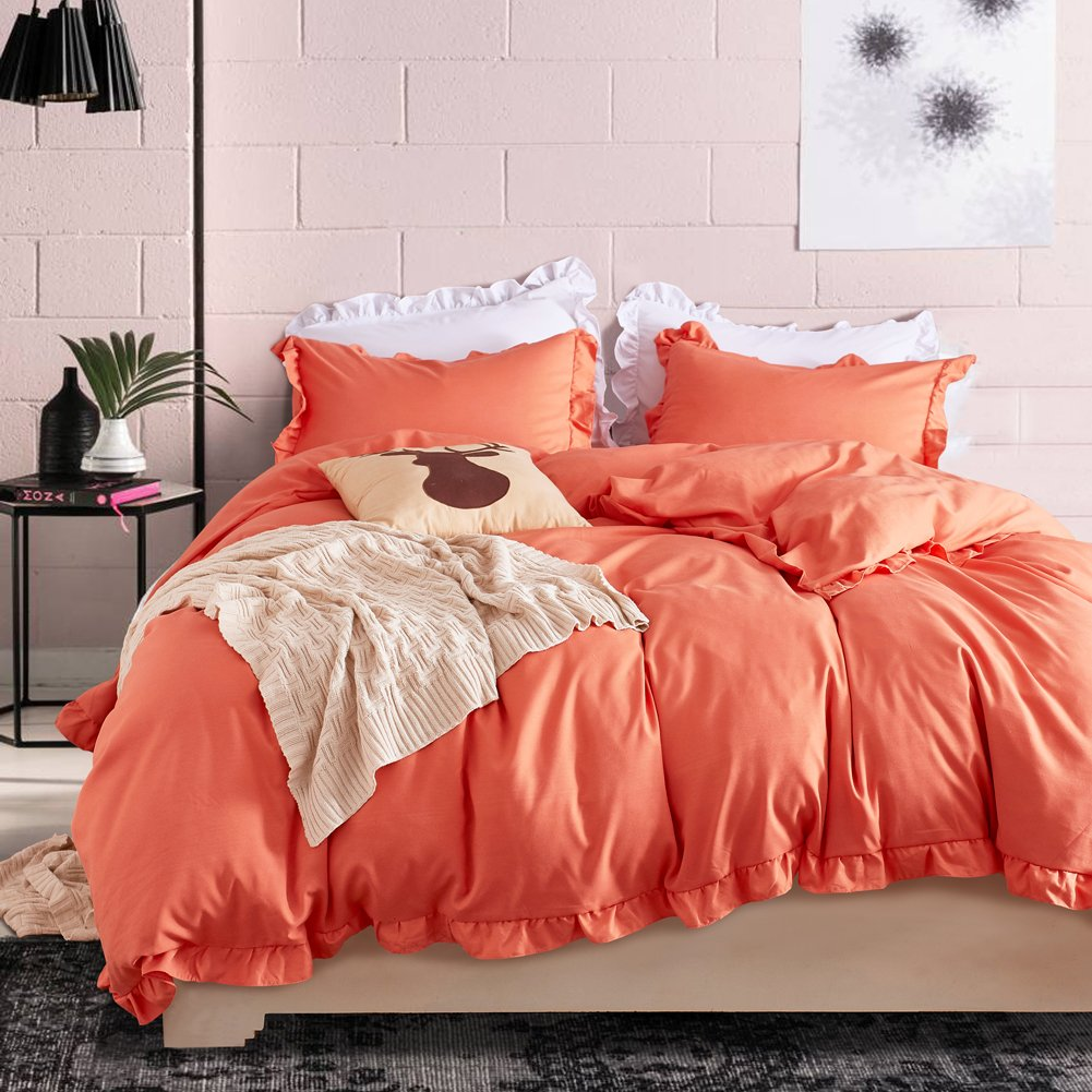 Hyprest Lace Duvet Cover Set Queen Lightweight