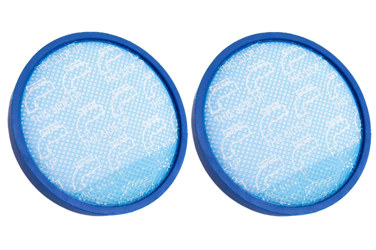 Green Label 2 Pack for Hoover Primary Blue Sponge Filter for WindTunnel, Elite Rewind and Elite Whole House Bagless Upright Vacuums (compares to 304087001). Washable