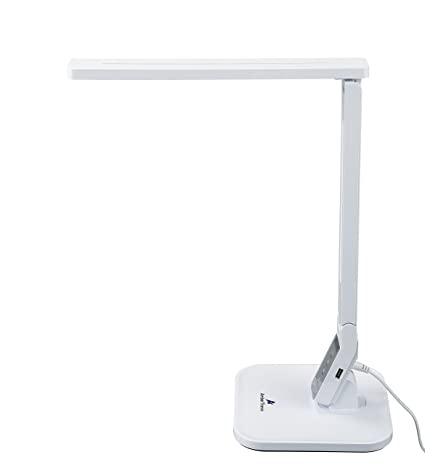 Ambertronix 14W LED Desk Lamp AT 258 W, Touch Control Panel, 1