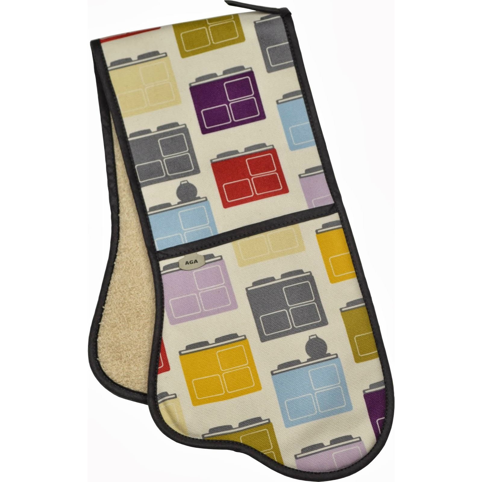 AGA Double Oven Glove - Iconic - 93cm Long by AGA