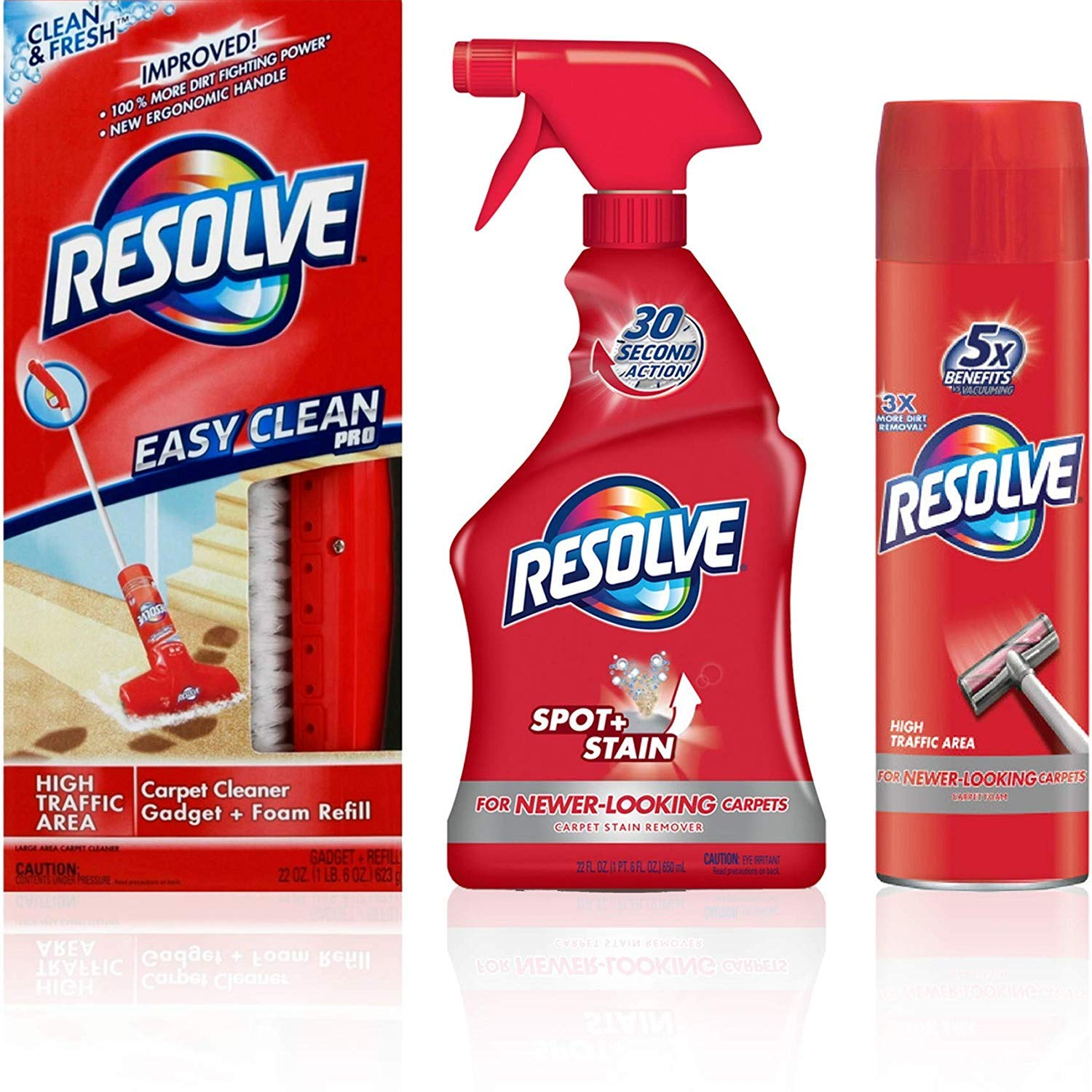 Resolve Carpet Cleaners (Carpet Cleaning Bundle)