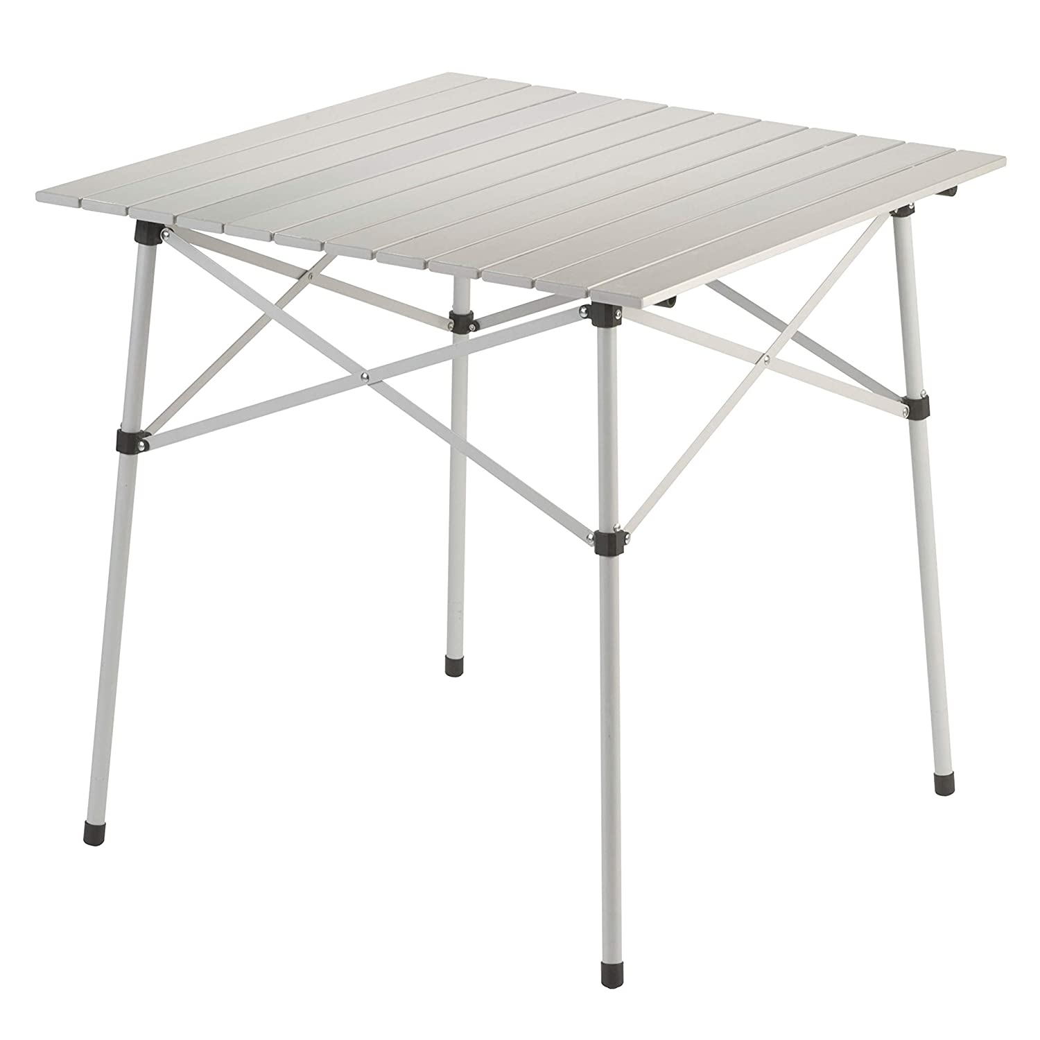 Coleman Unisexs 765203-SSI Outdoor Compact Table 27.5 x 27.5-Inch Multi-Coloured