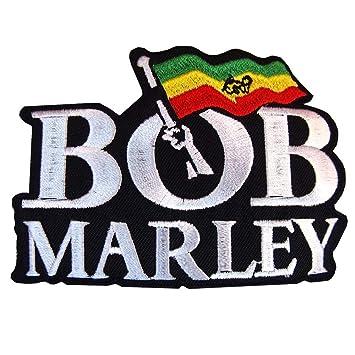 amazon com bob marley ska reggae t shirts logo applique iron on rh amazon com bob marley colors bob marley coloring pages