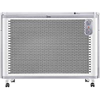 美的(Midea)取暖器/电暖器/电暖气家用 立式壁挂居浴两用 浴室防水 电热炉 欧式快热炉NDK20-18AW(亚马逊自营商品, 由供应商配送)