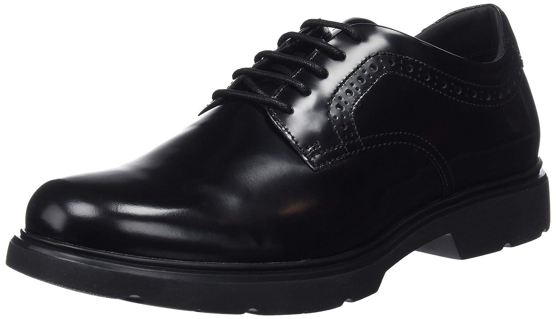 Geox U Arrall A, Zapatos de Cordones Derby para Hombre