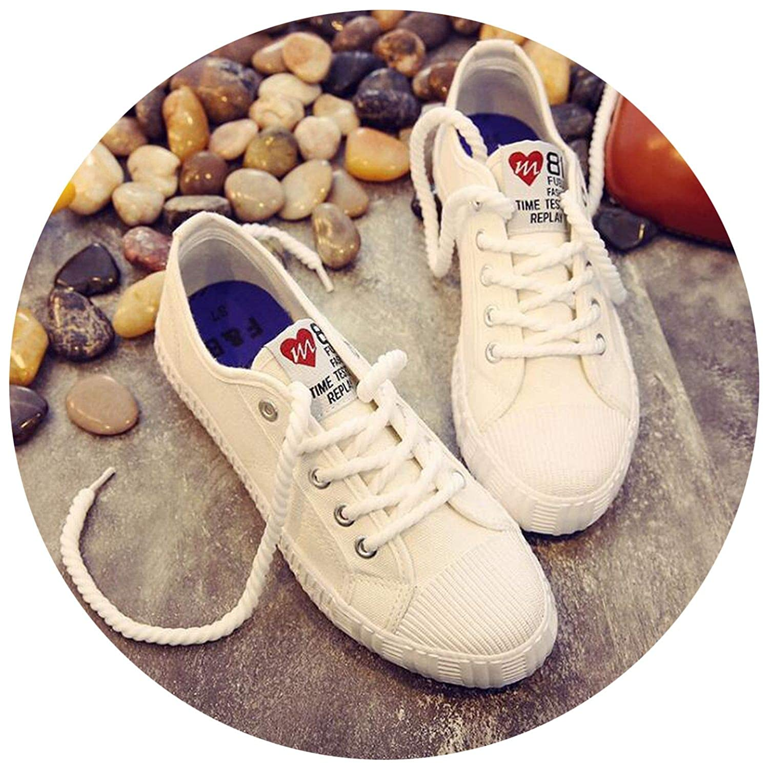 2019 New Women Spring Shoes on Sneakers Sewing Adult Woman Fabric Size 35-40 YA-22