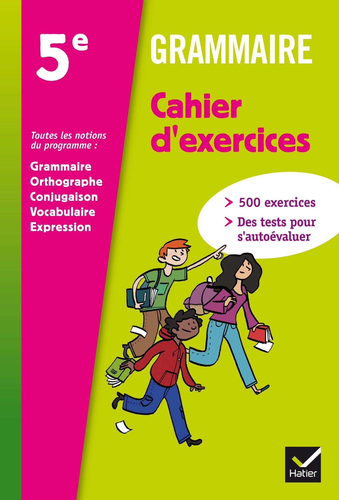 Grammaire 5e Ed 2012 Cahier D Exercices Amazon Fr Annie