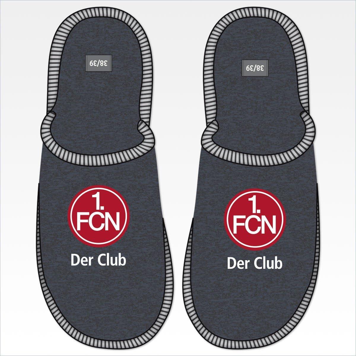 Eintracht Braunschweig Herren Hausschuhe Plüschpuschen Fanartikel
