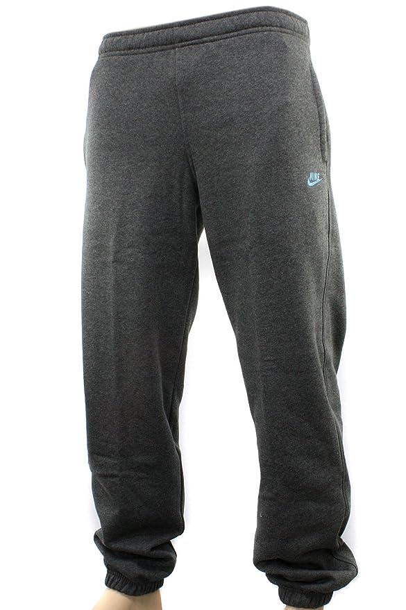 Nike - Pantalones de chándal para hombre, color gris y azul ...