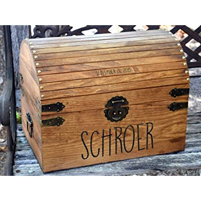 Kids Toy Chest - Kids Treasure Chest - Personalized Gift for Kids - Children's Treasure Chest - Gift for Kids - Kids Christmas Gifts: Handmade