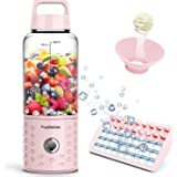 PopBabies Portable Blender, Mini Smoothie Maker with with USB Rechargeable, Larger Stronger and Faster, Blending While…