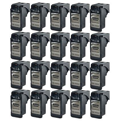 nineleaf 20 unidades PG-545 XL PG545 X L Compatible para ...