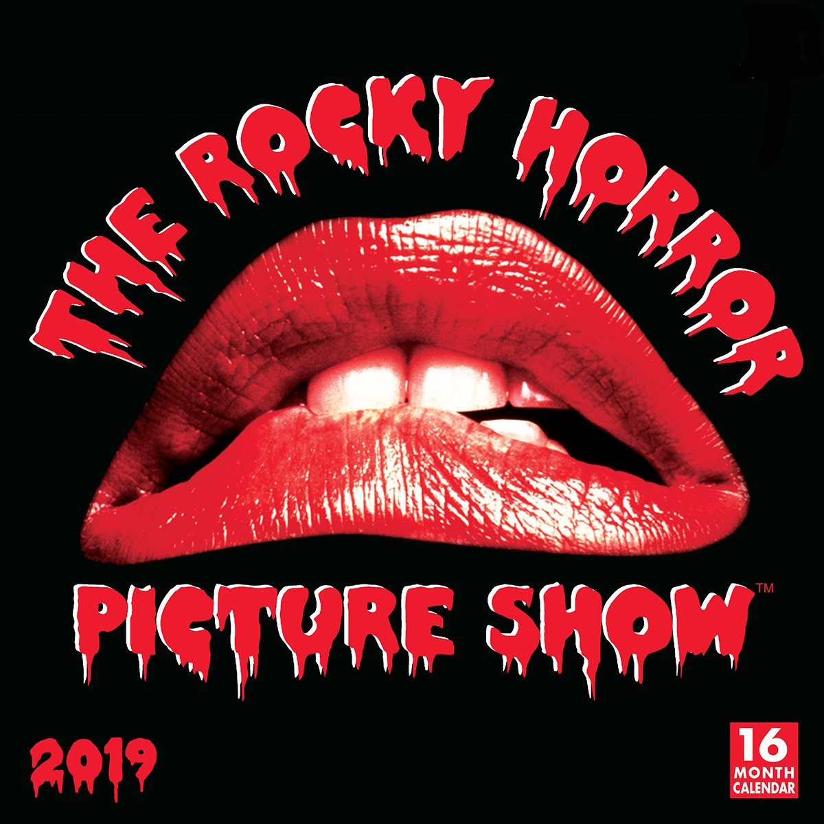 Calendario 2919.The Rocky Horror Picture Show 2019 Wall Calendar Sellers