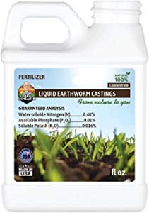 Papa Jonah's Liquid Earthworm Castings Natural 100% Concetrate (32oz)