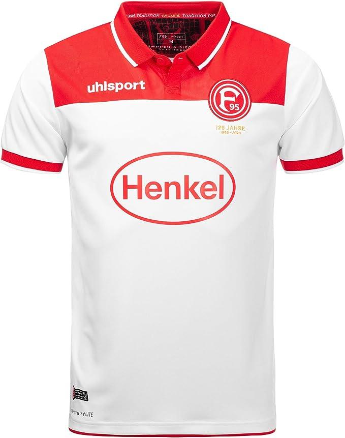 Uhlsport Fortuna Düsseldorf Training Jersey Rouge f95 Fan Shirt Maillot S-XXL