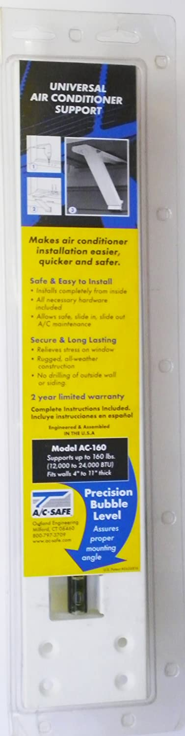 Amazon.com: A/C Safe AC 160 Universal Heavy Duty Window Air Conditioner  Support: Home Improvement