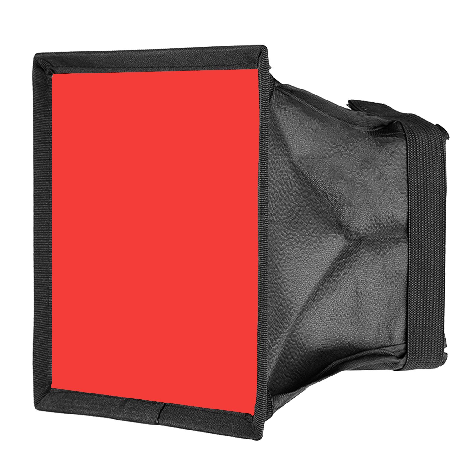 Neewer 5.9x6.7 inches/15x17 Centimeters Camera Collapsible Diffuser Mini Softbox for CN-160, CN-126 and CN-216 LED Light (Red) 10093562