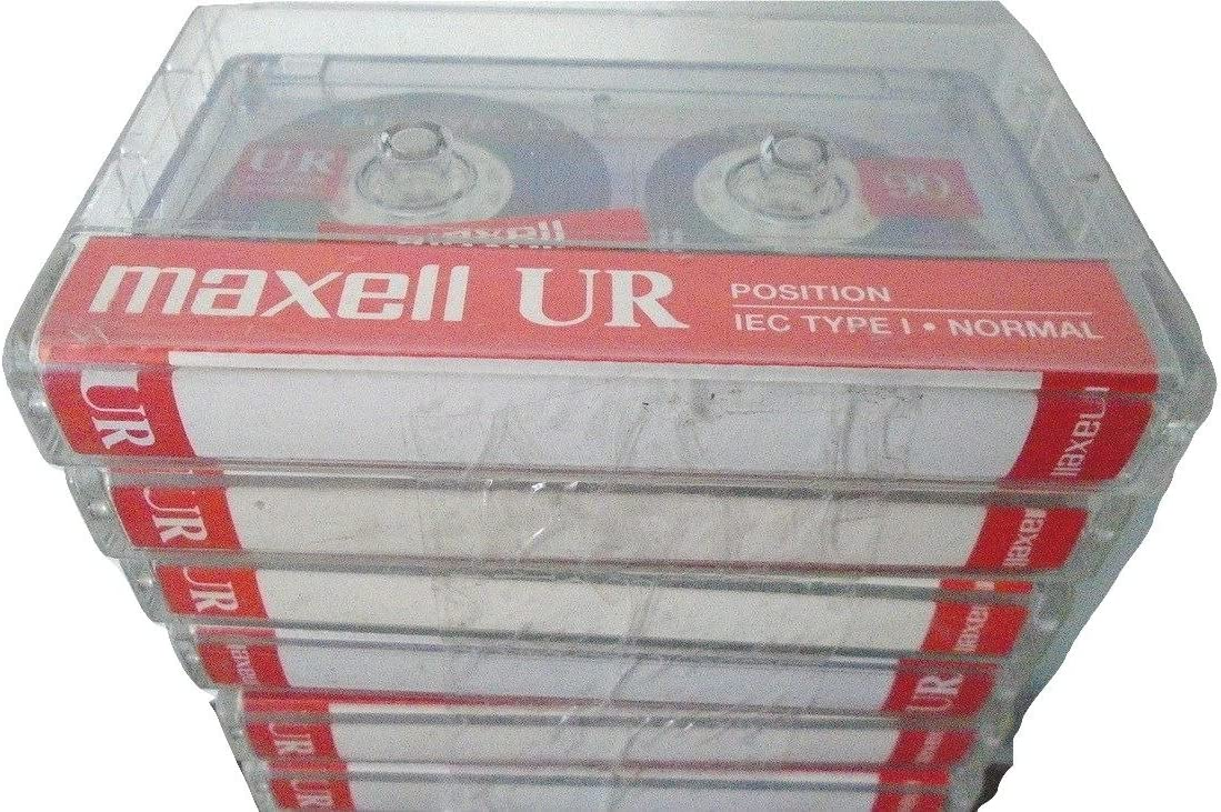Maxell UR-90 Blank Audio Cassette Tape New 10 Pack 108575 Free Shipping