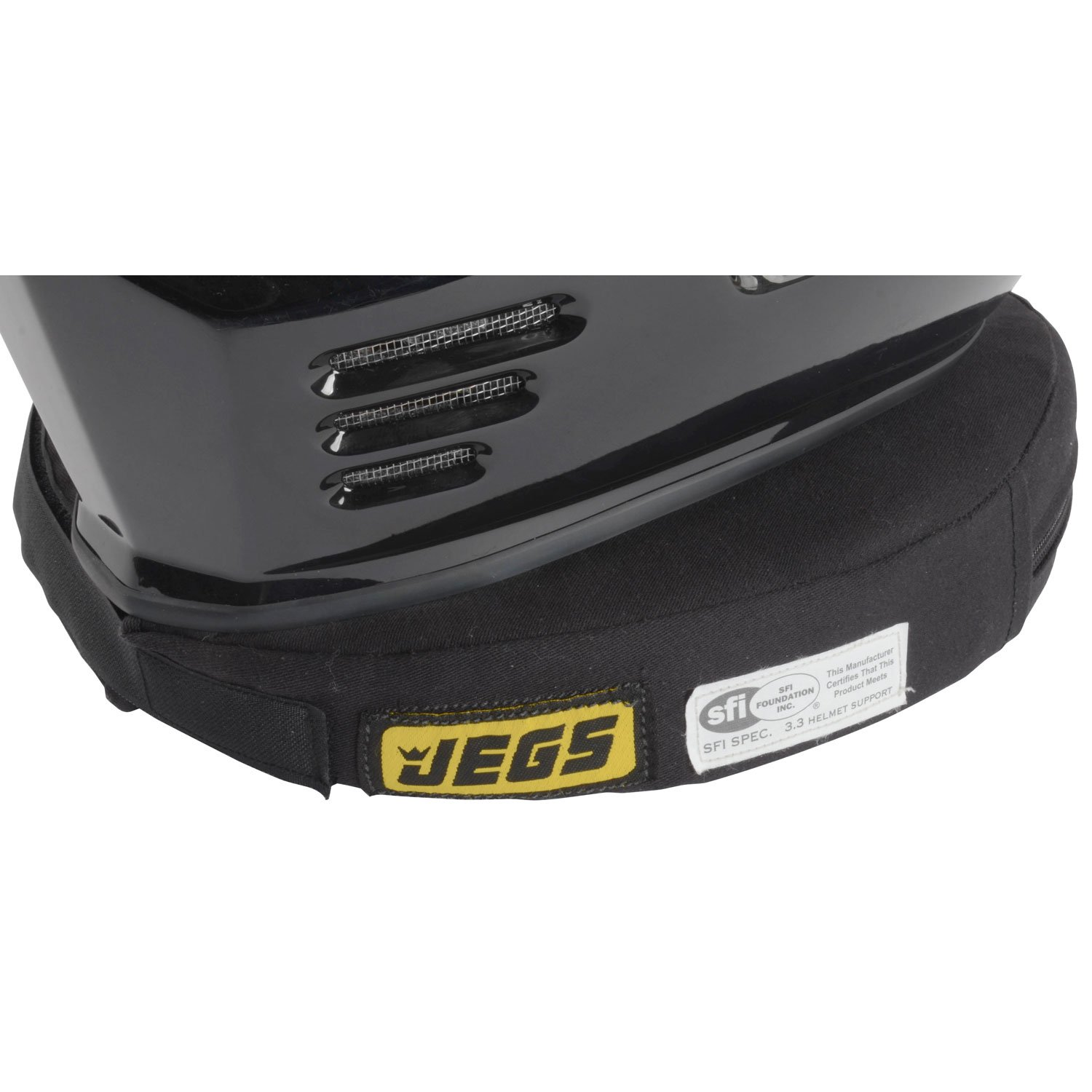 JEGS Performance Products 6040 Neck Support SFI 3.3 Approved Black