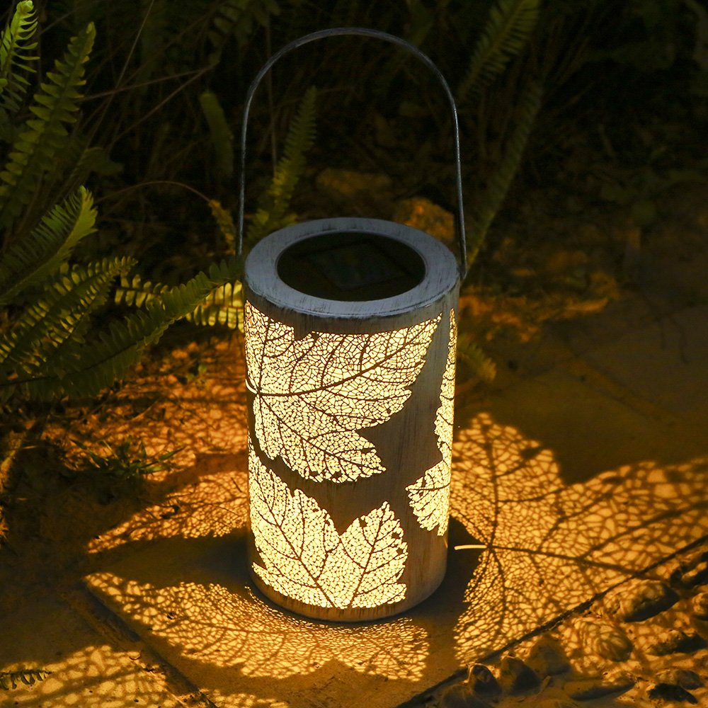 Tomshine LED Solar Lantern Hanging Lamp Outdoor Rechargeable LED Light Bulb for Garden Yard Patio Lawn Party Decorative Waterproof Auto On/Off