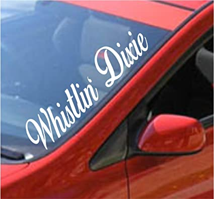 Amazon Com Dabbledown Decals Whistlin Dixie Large Car Truck Window