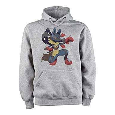 Pokemon Lucario On One Knee XXL Unisex Hoodie