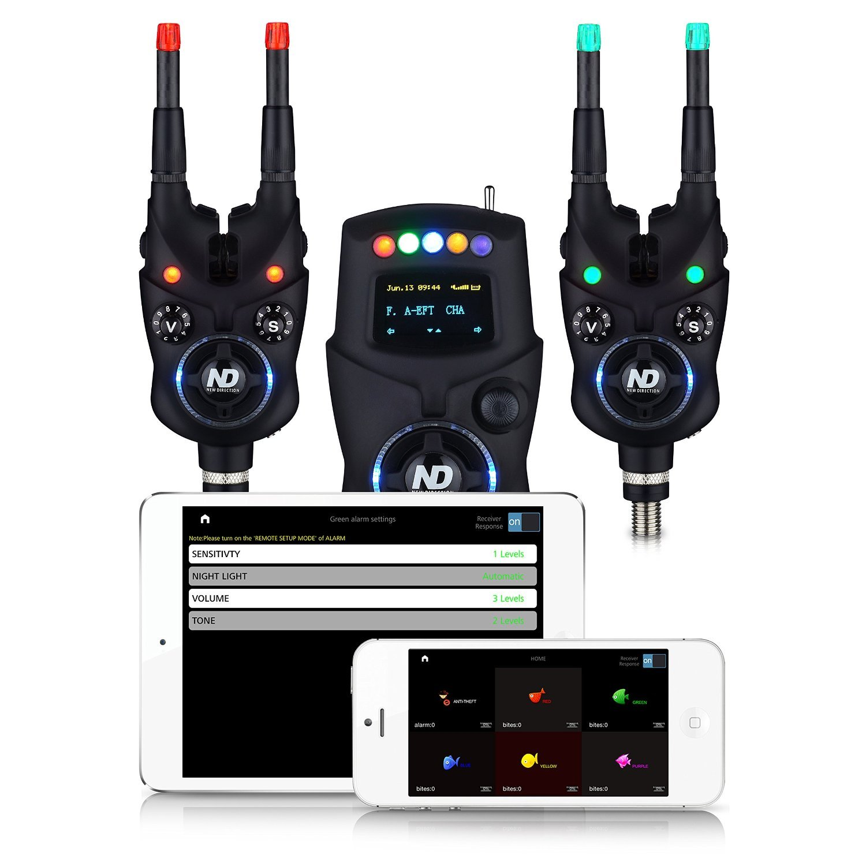 New Direction Tackle + Tackle コイ釣りスマートフォン用Bluetooth Biteアラーム2 + 1セット 1セット B06XSJW2F2, オオタケシ:9fca4582 --- tandlakarematspetersson.se
