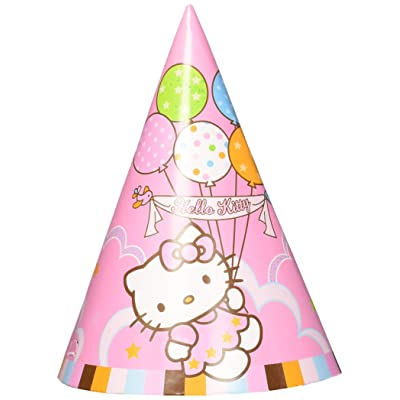 amscan Party Hats   Hello Kitty Collection   Party Accessory: Toys & Games