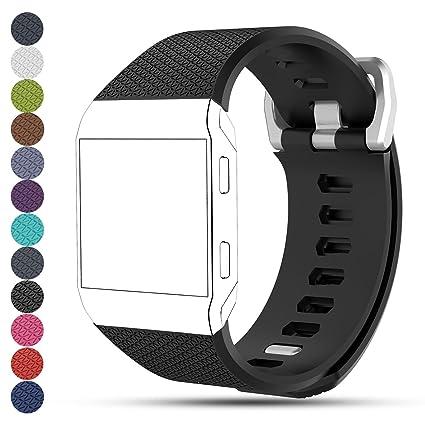 Fitbit Ionic Smartwatch Reemplazo Correa de reloj, ifeeker ...