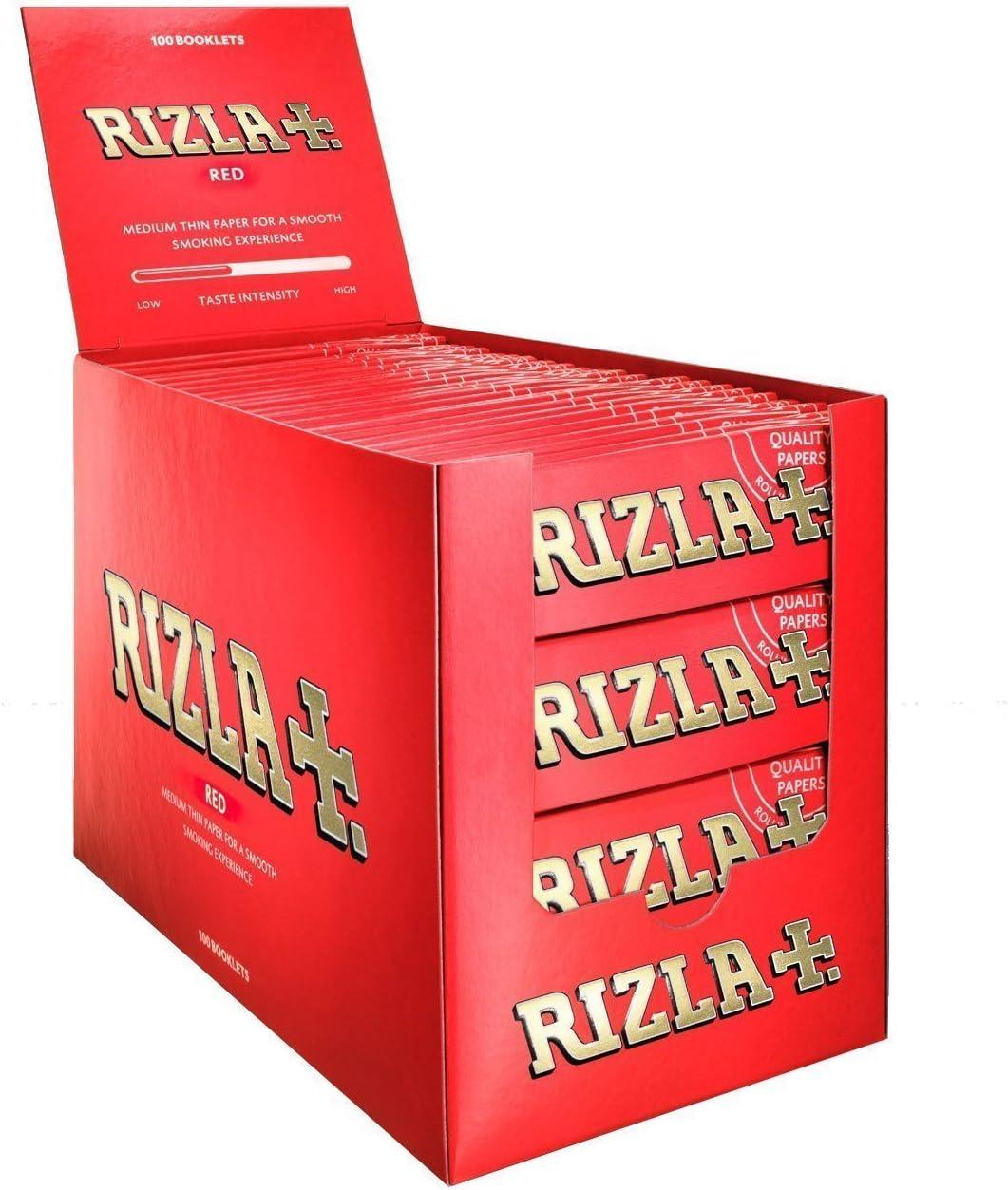 Rolling Papers Fumar Rojo Regular 50 Folletos