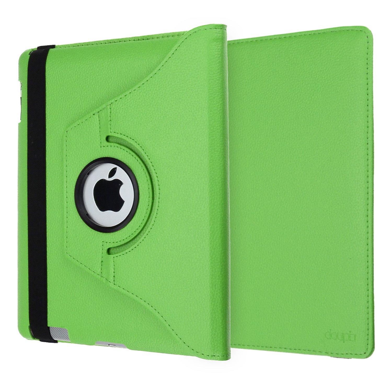 doupi Deluxe Custodia per iPad Air 2 360 Gradi Rotable Protezione con Smart Funzione Sleep//Wake Up Etui Stare in Piedi Protettiva Nero