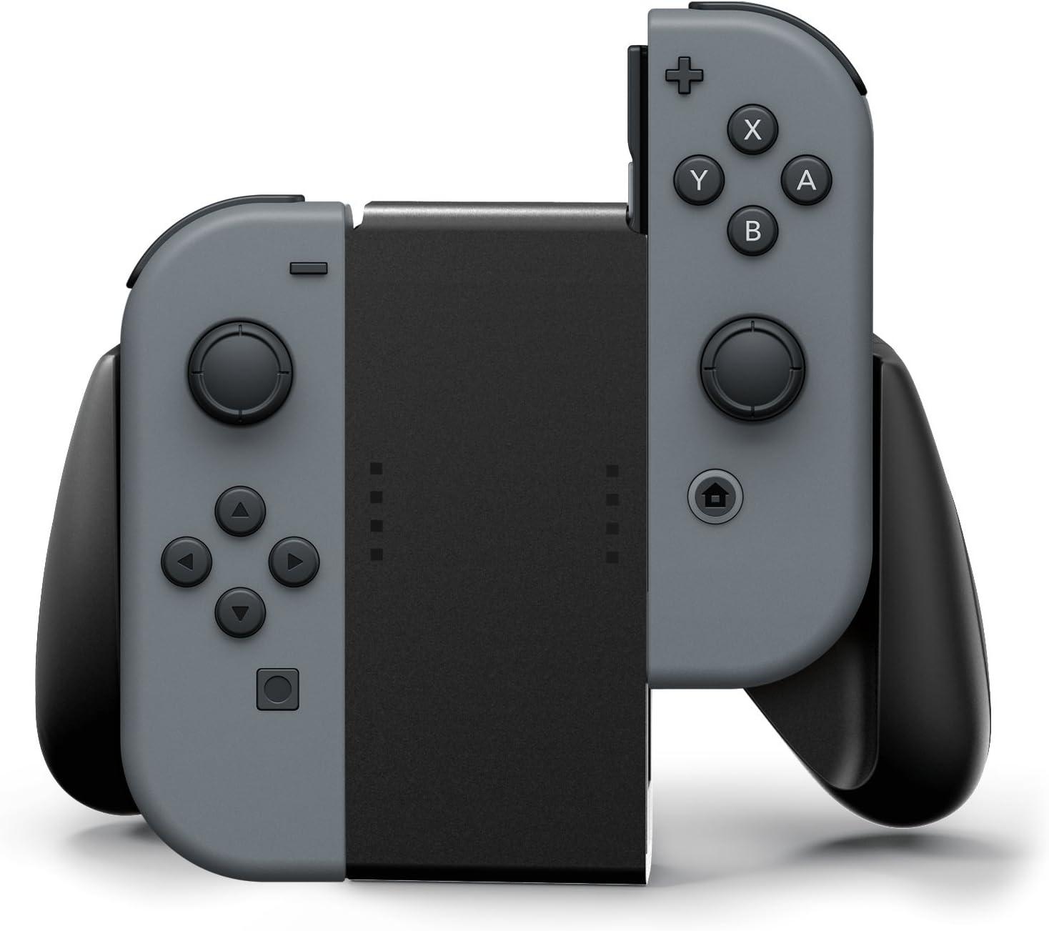 Nintendo Switch Joy-Con Comfort Grip, Negro: Amazon.es: Videojuegos